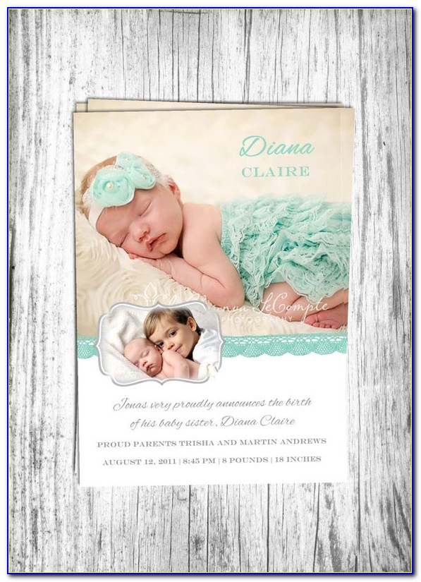 Etsy Baby Announcement Board