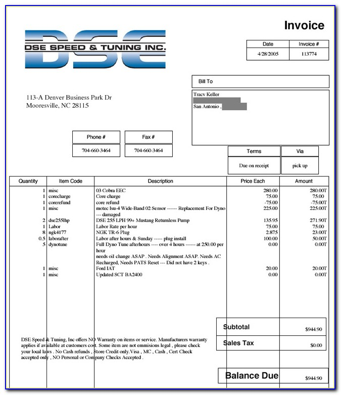 Fedex Commercial Invoice Sample