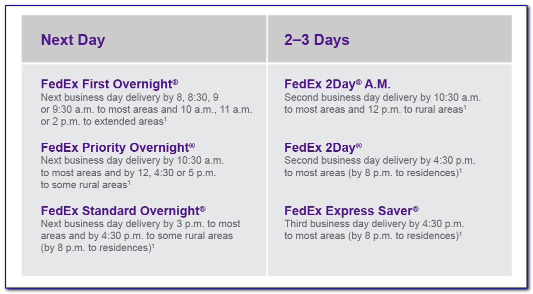 Fedex Overnight Letter Cost 2018