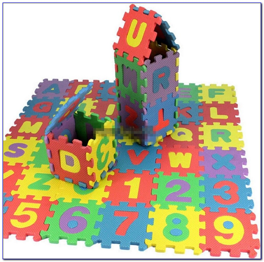 Foam Alphabet Letters And Numbers