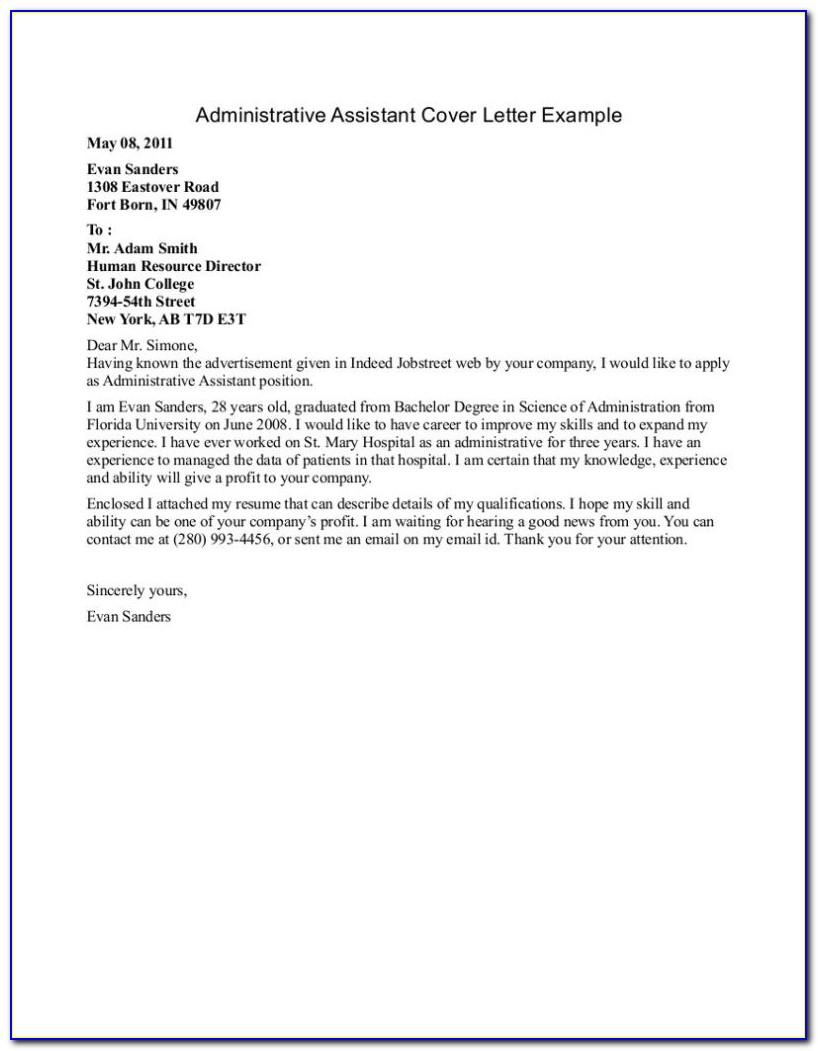 Free Cover Letter Examples For Dental Assistant