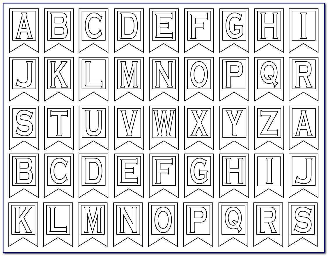 Free Lowercase Alphabet Letter Templates To Print