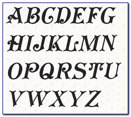 Free Printable Alphabet Letters Templates