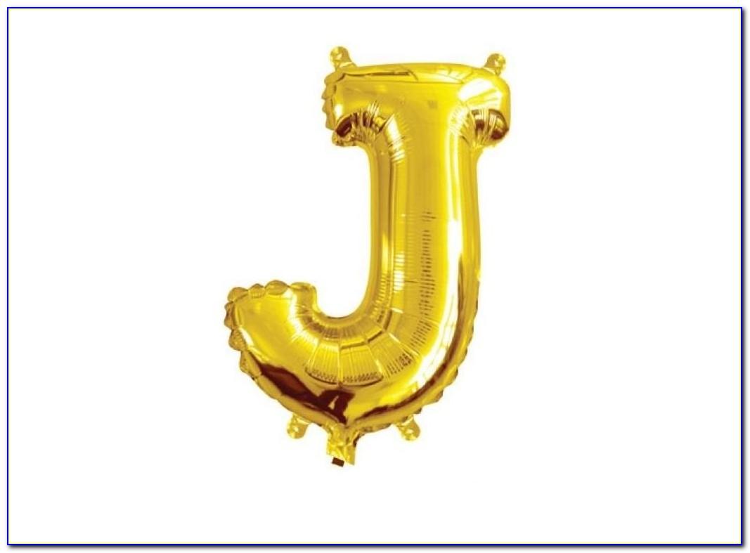 Gold Letter Balloons Kmart
