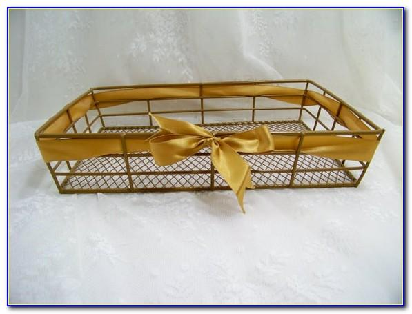 Gold Letter Paper Tray