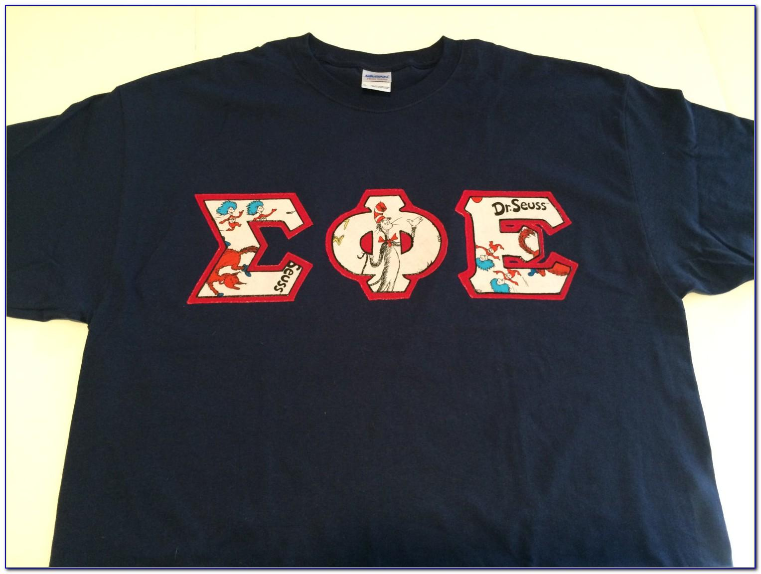 Greek Letter Shirts Sorority
