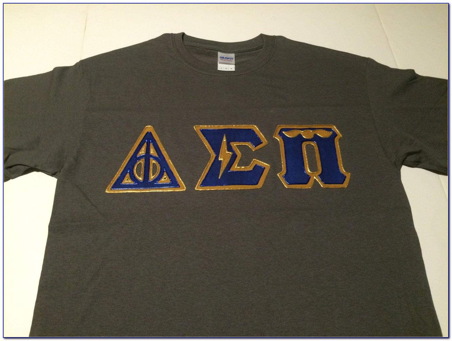 Greek Letters Shirts Custom