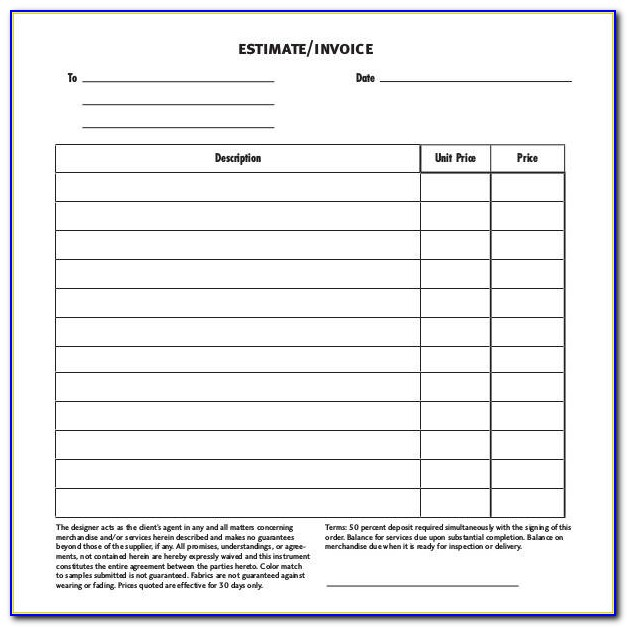 Gst Proforma Invoice Format Pdf