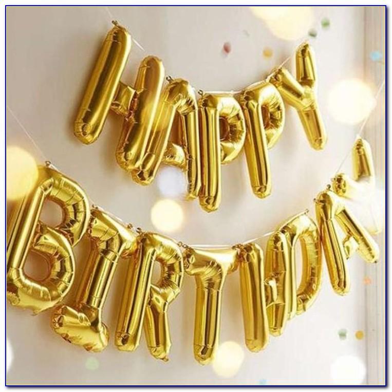 Helium Letter Balloons Ebay
