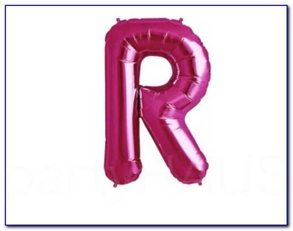 Helium Letter Balloons Near Me