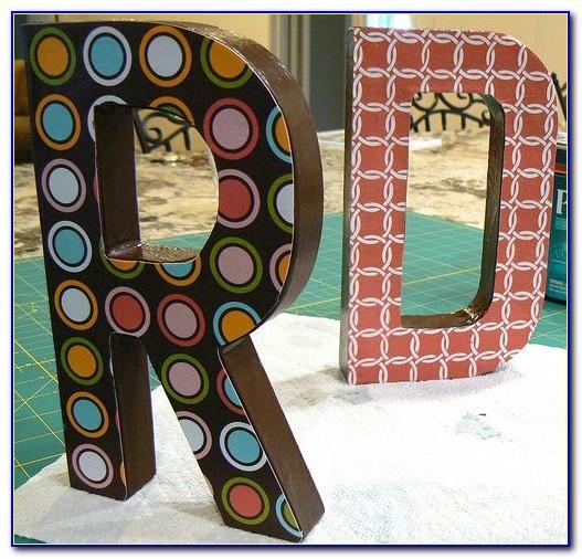 Hobby Lobby Foam Letter Stickers