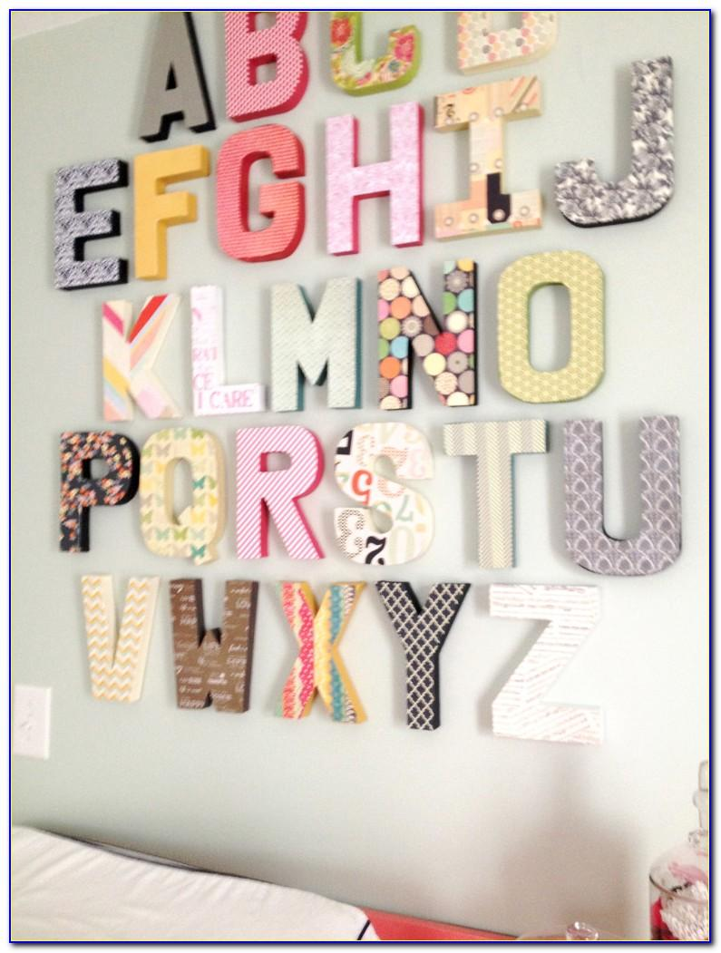 Hobby Lobby Gold Letter Stickers