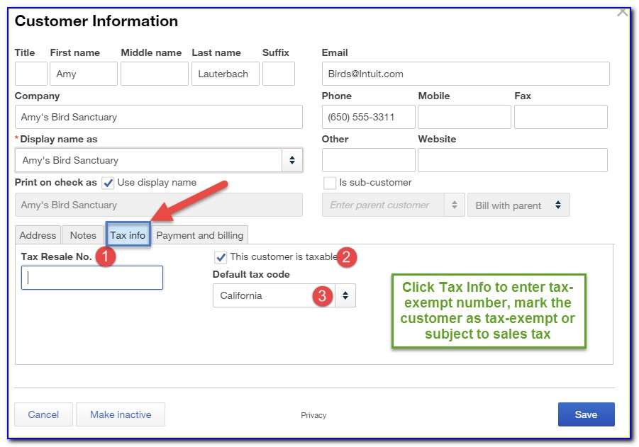 How Do I Add Sales Tax To Quickbooks Invoice