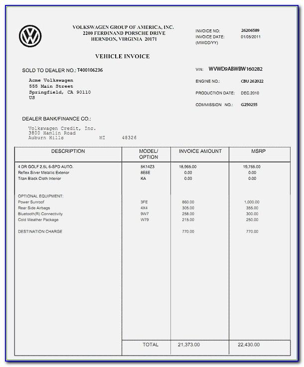 Hyundai Kona Invoice Price
