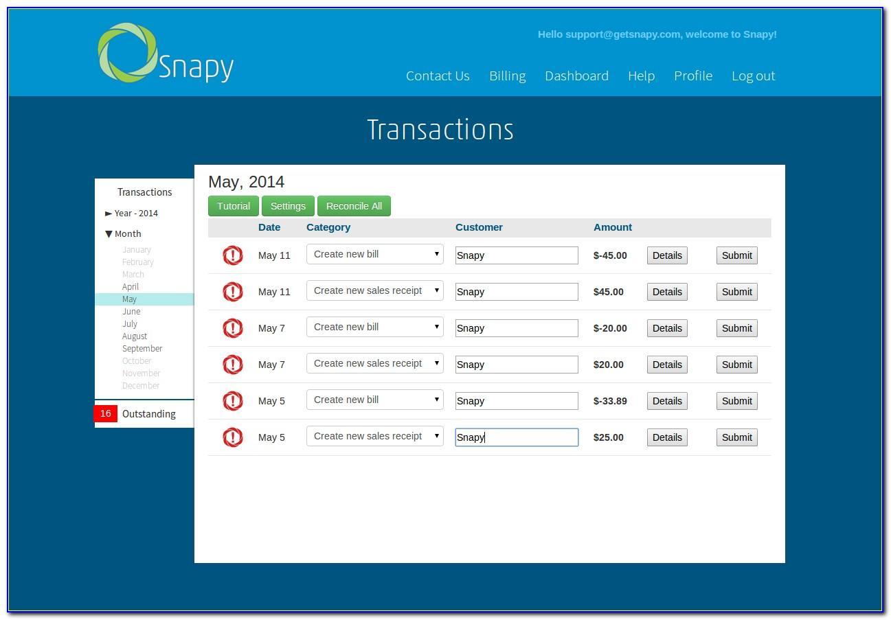Import Invoice Data Into Quickbooks Online