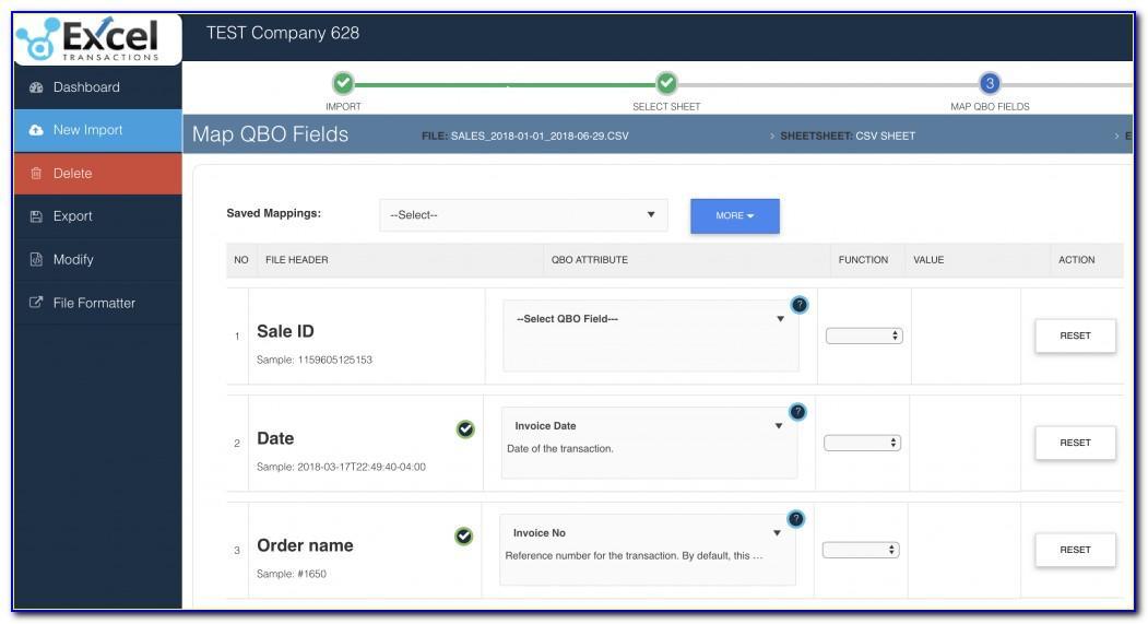 Importing Transactions Into Quickbooks Desktop