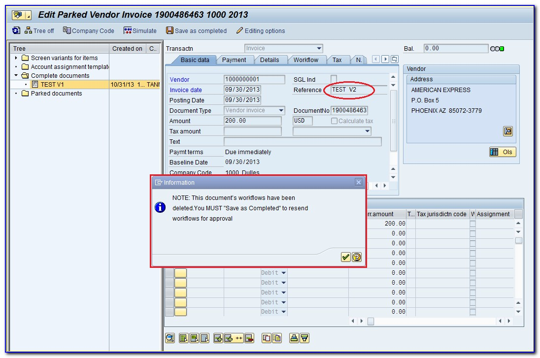 Invoice Workflow In Sap Tcode