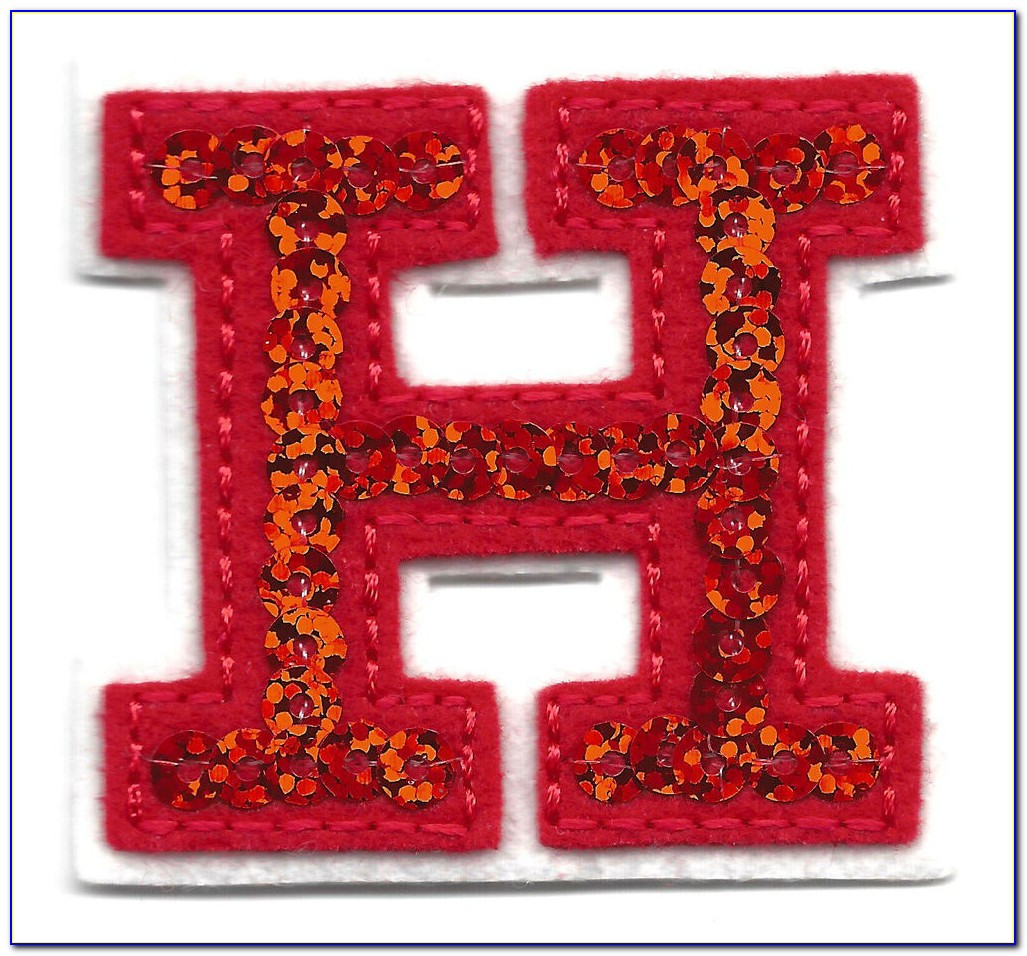 Iron On Embroidered Letters Hobby Lobby