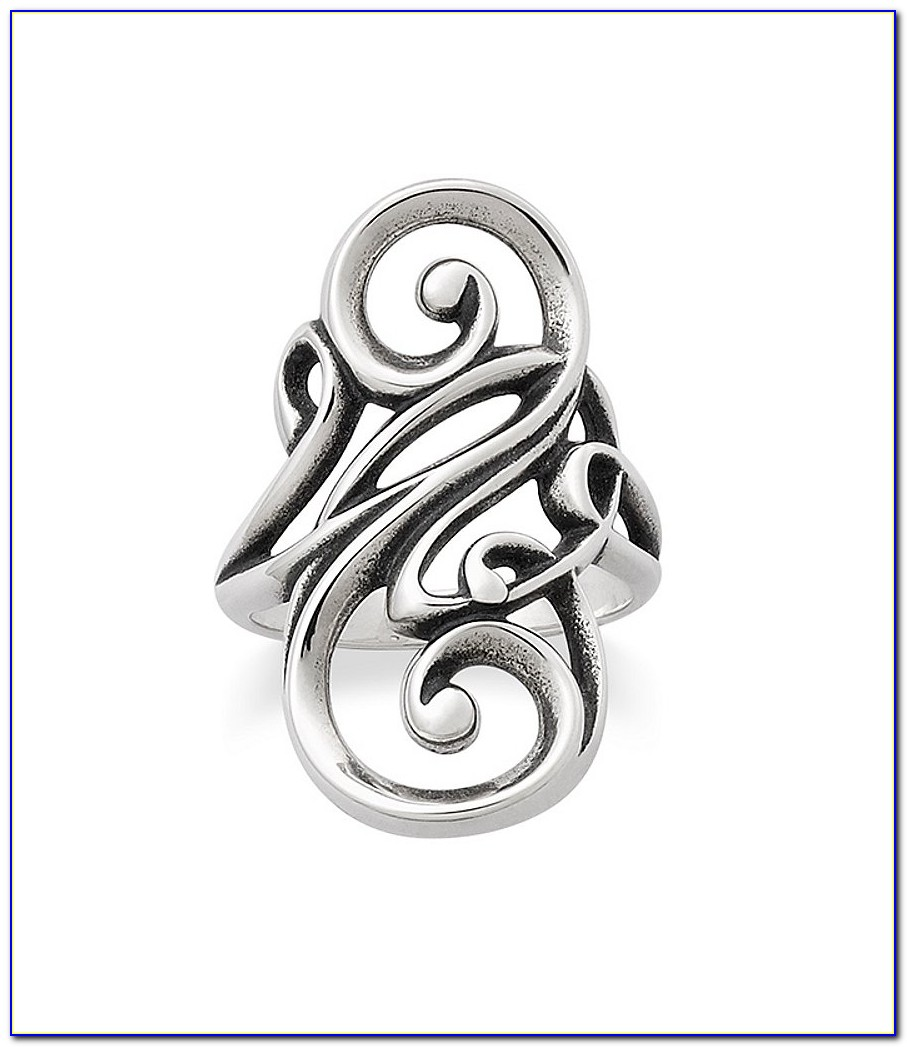 James Avery Letter D Ring