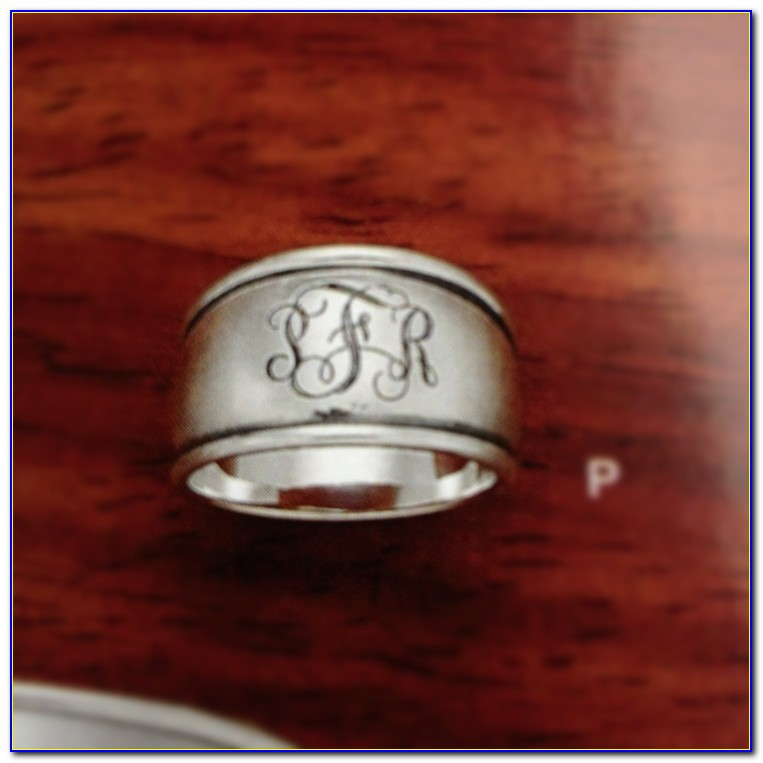 James Avery Rings Letter S