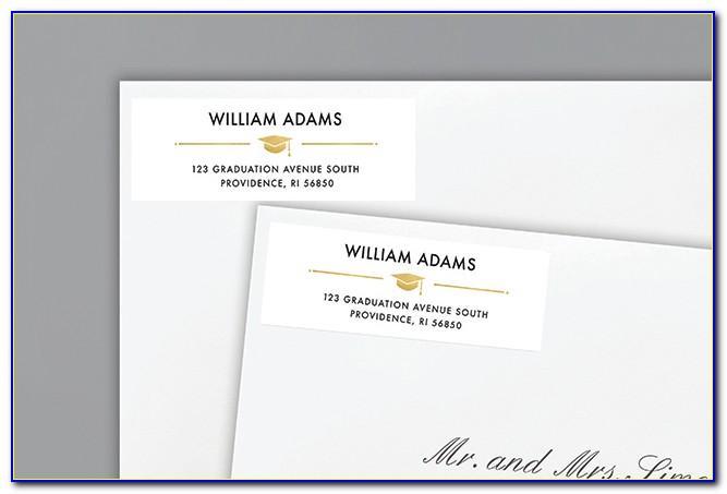 Jostens Graduation Announcements Name Cards