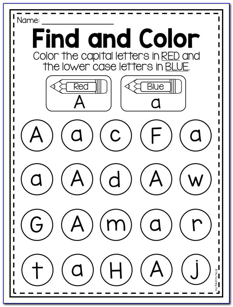 Kindergarten Worksheets Letter L