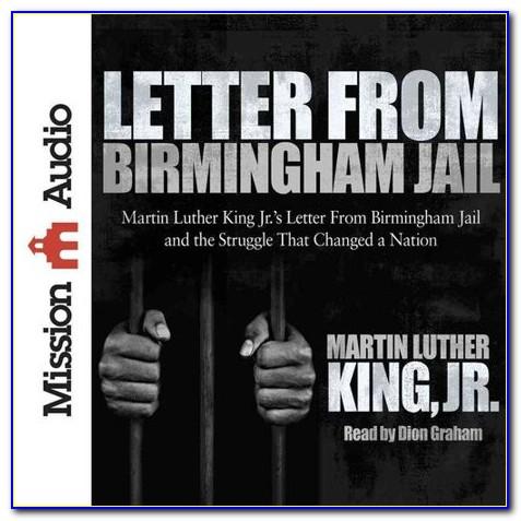 King Jr Letter From Birmingham Jail