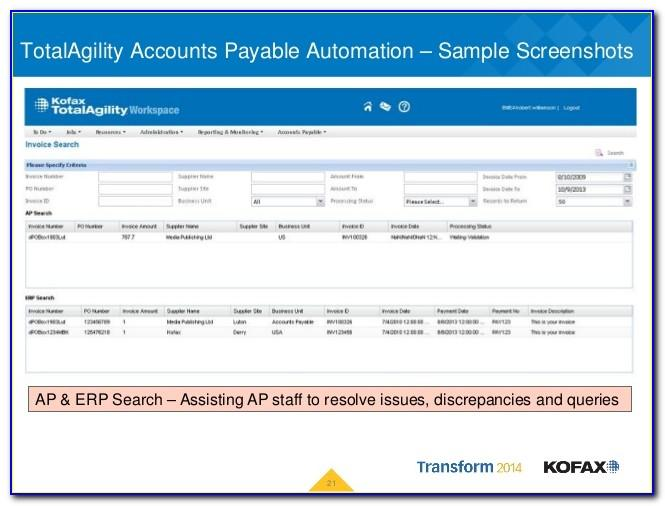 Kofax Invoice Processing Video