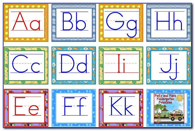 Large Abc Letters Printable