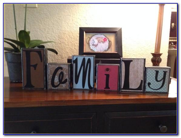 Large Block Letters For Decorating