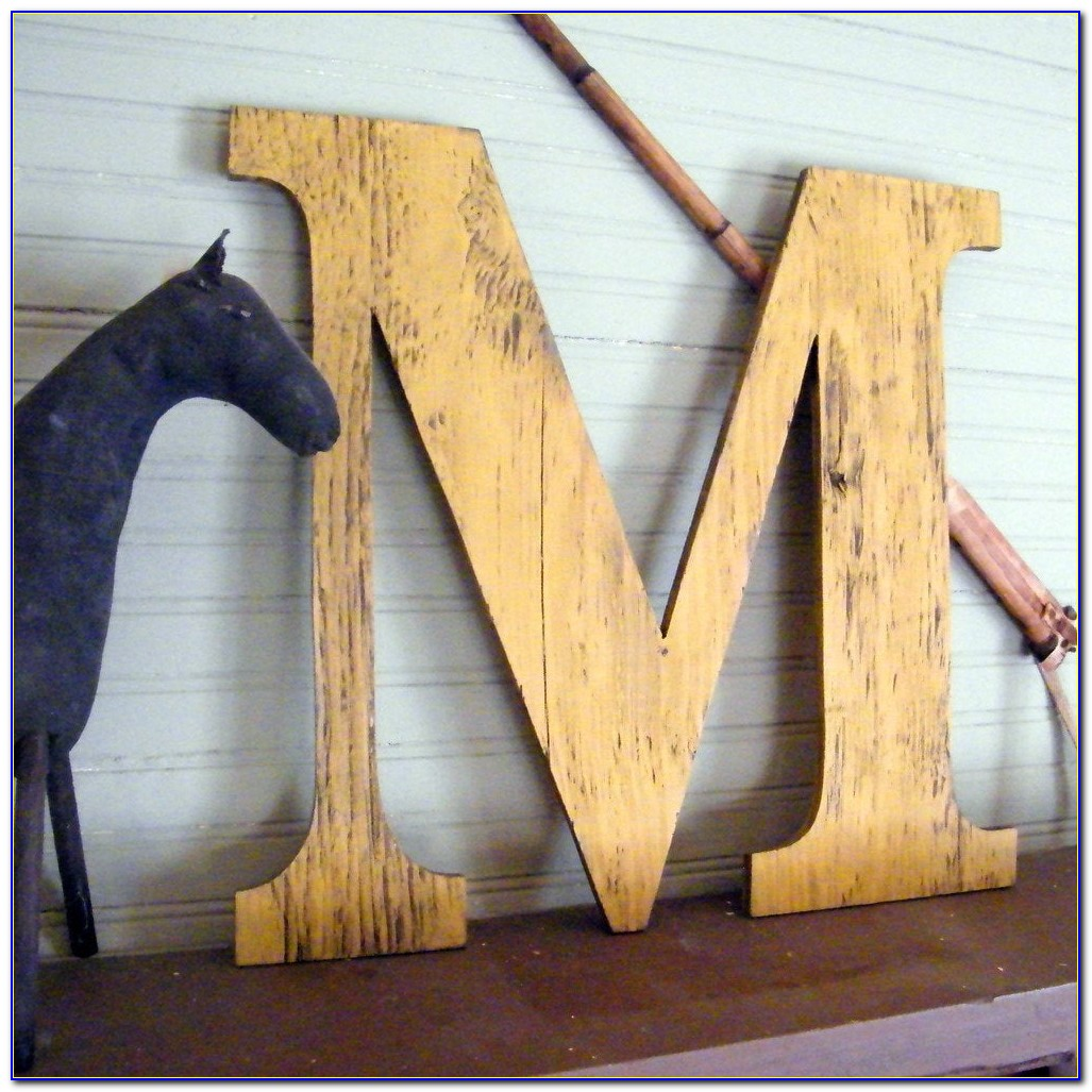 Large Wooden Letters Australia