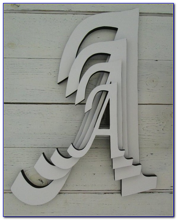 Large Wooden Letters Ebay