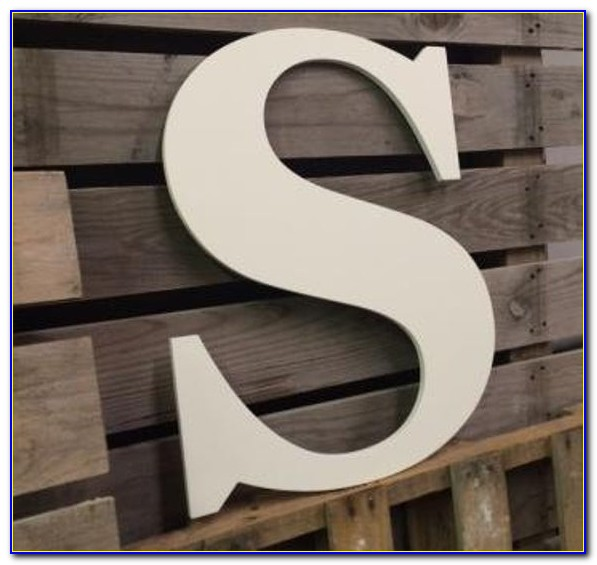 Large Wooden Letters Walmart