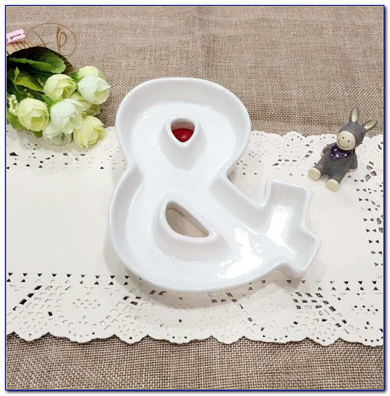 Letter Candy Dishes Canada