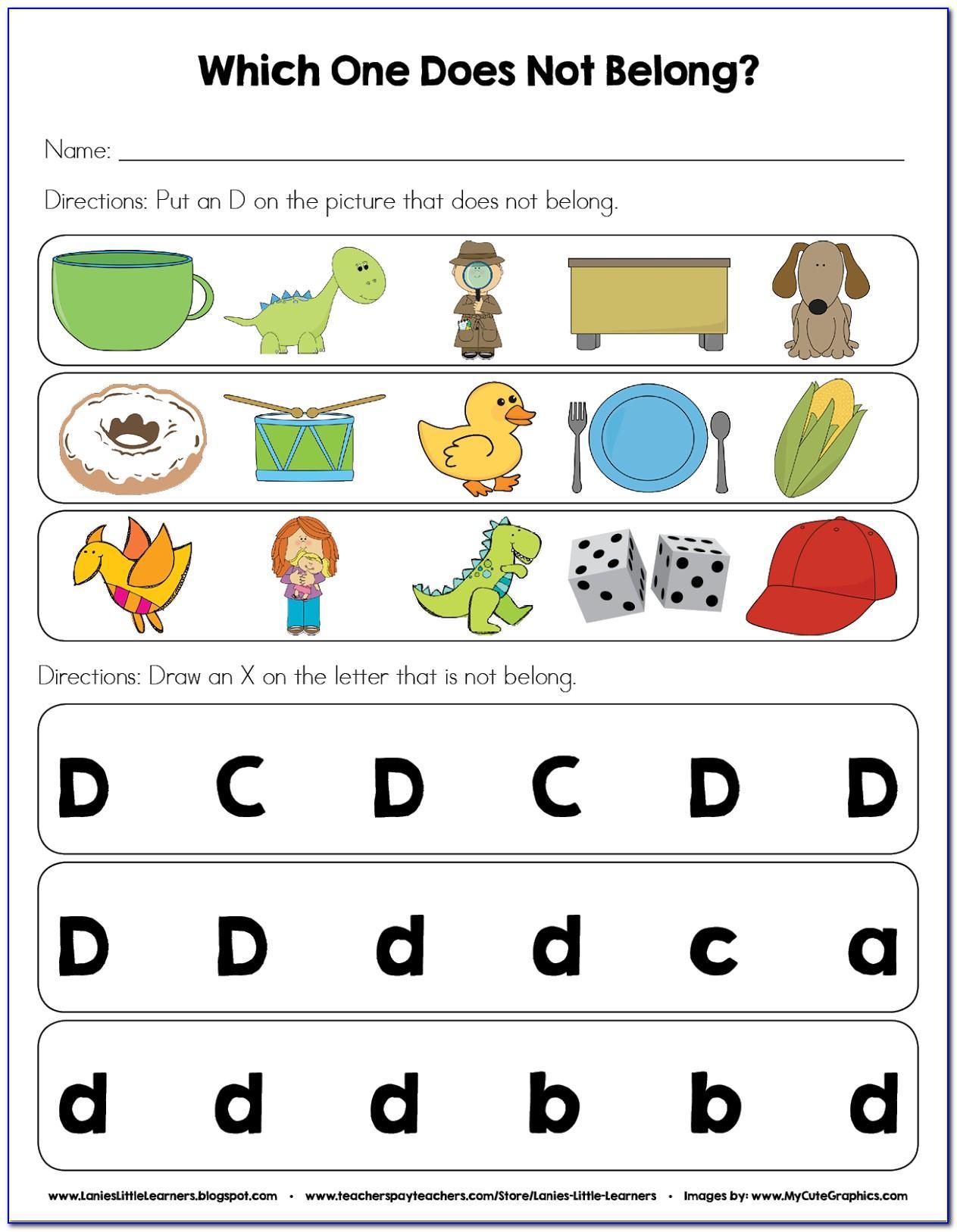 Letter D Alphabet Pictures