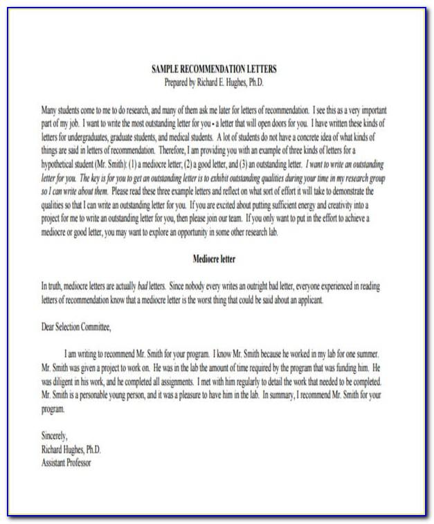 Letter Of Recommendation For Medical Assistant Certification