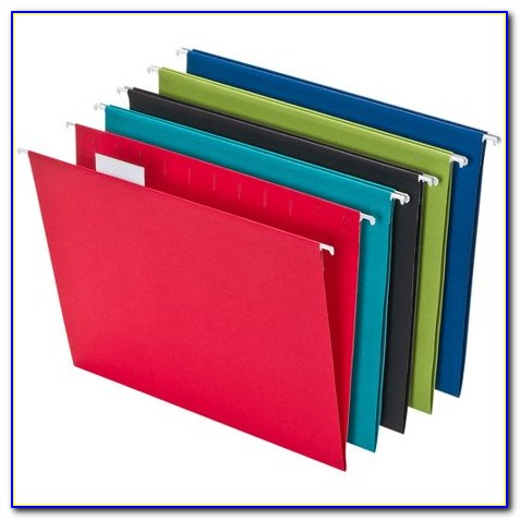 Letter Size Hanging File Folders Staples
