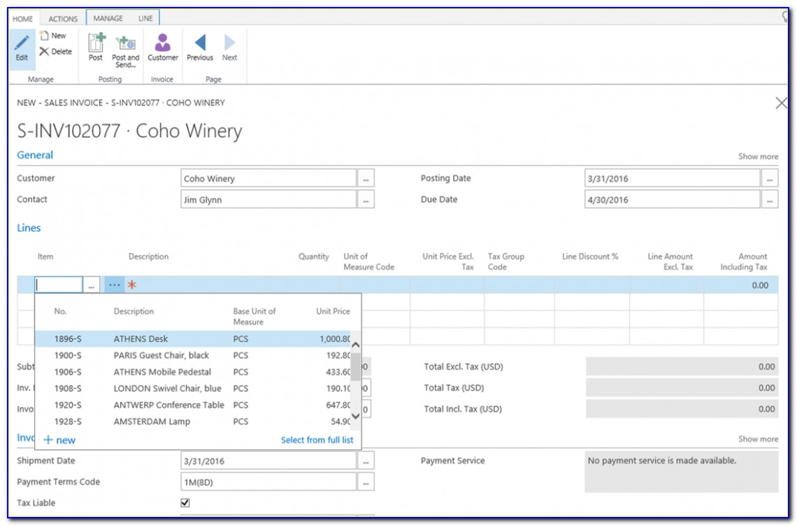 Lexmark Invoice Capture Service For Microsoft Dynamics Nav