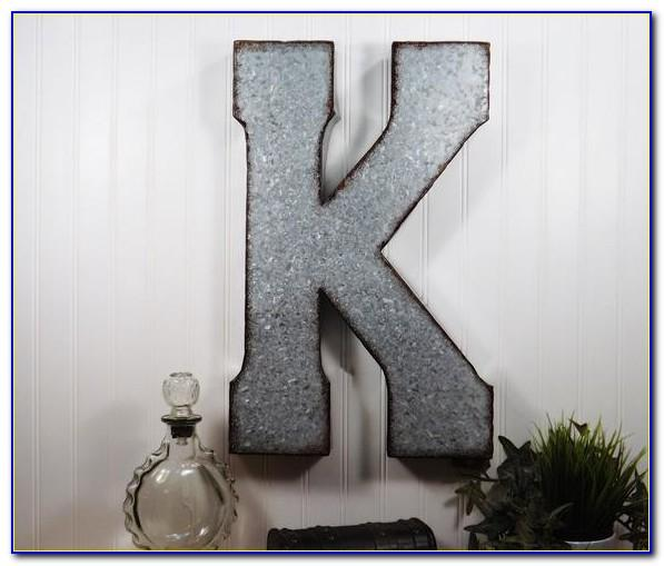 Metal Letters For Wall Decor