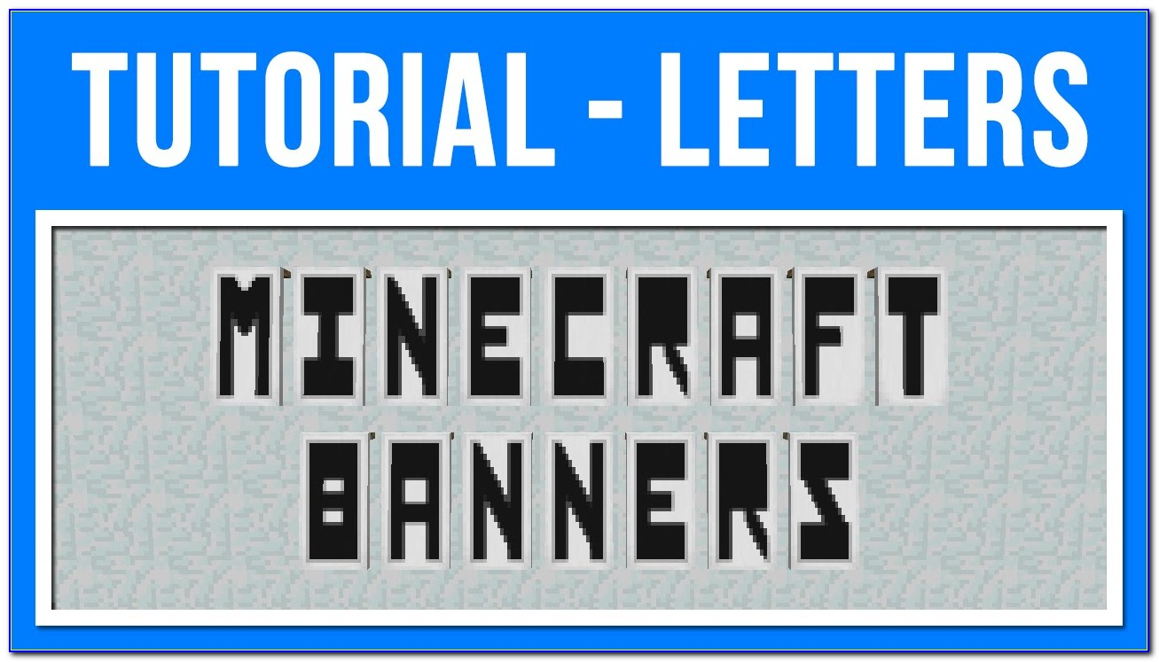 Minecraft Banner Letters R