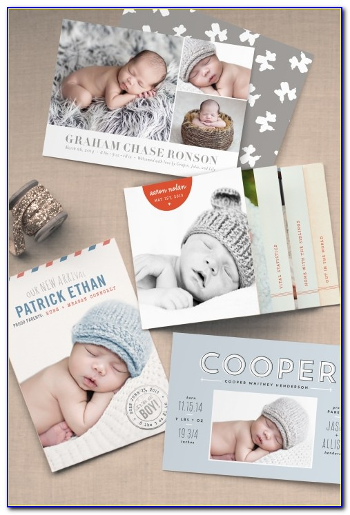 Minted Baby Birth Announcements