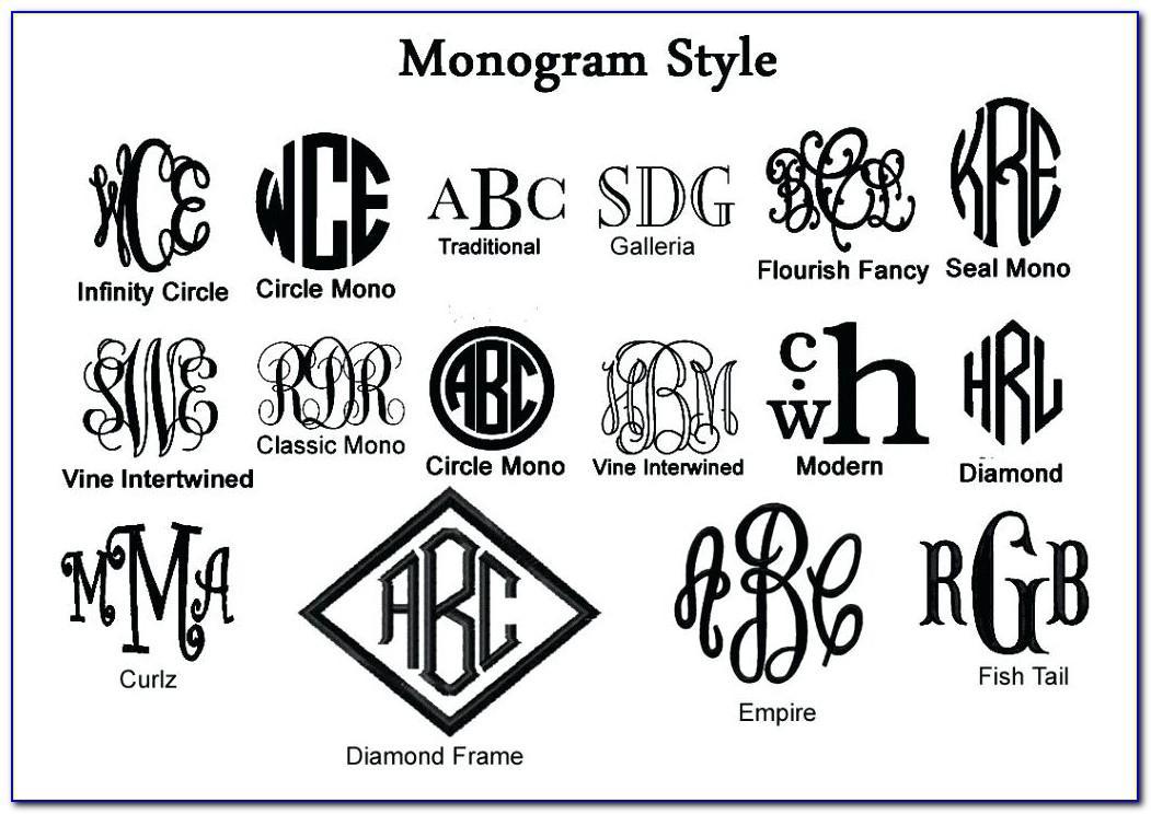 Monogram Letter Stickers Hobby Lobby
