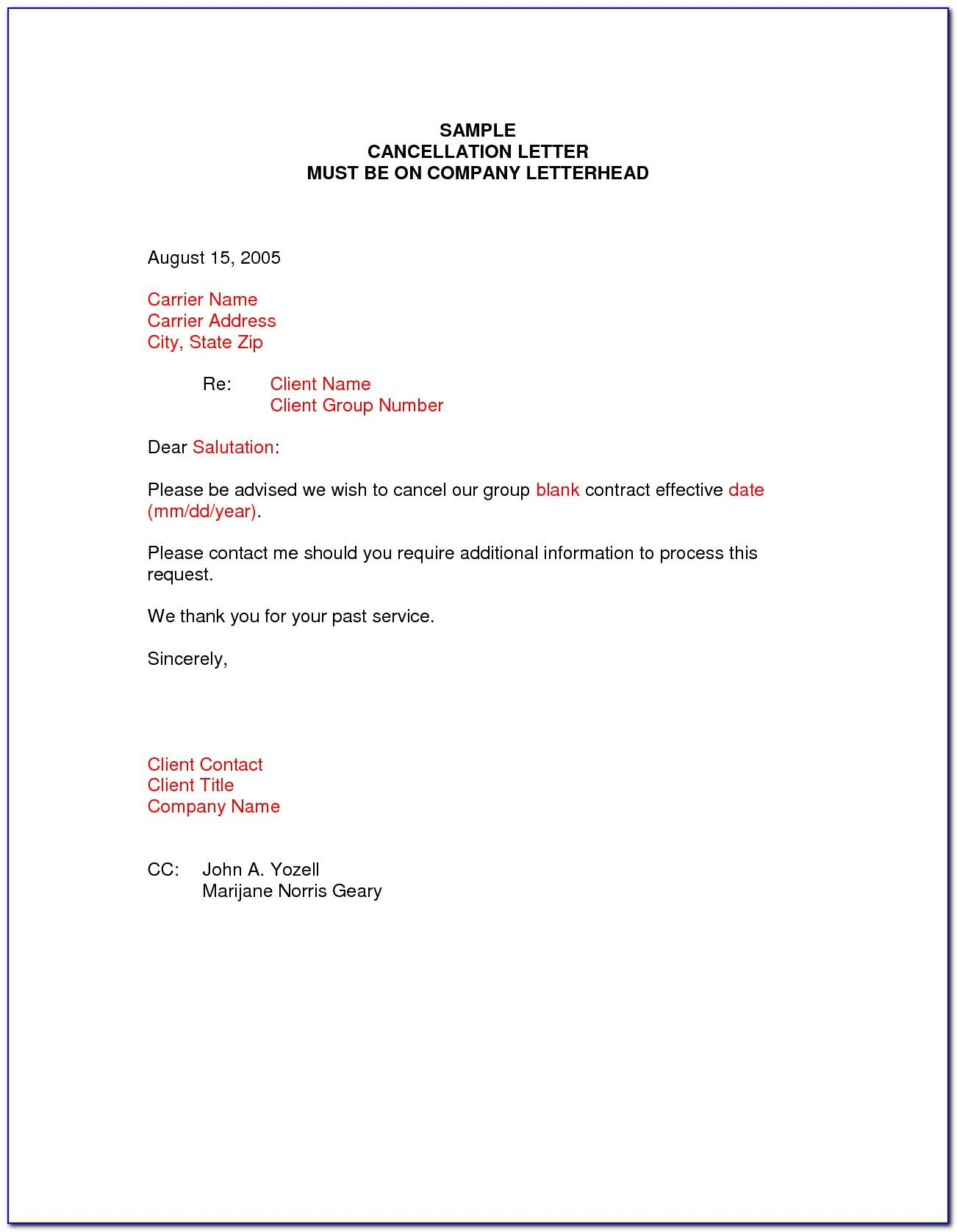 Mortgage Pmi Cancellation Letter