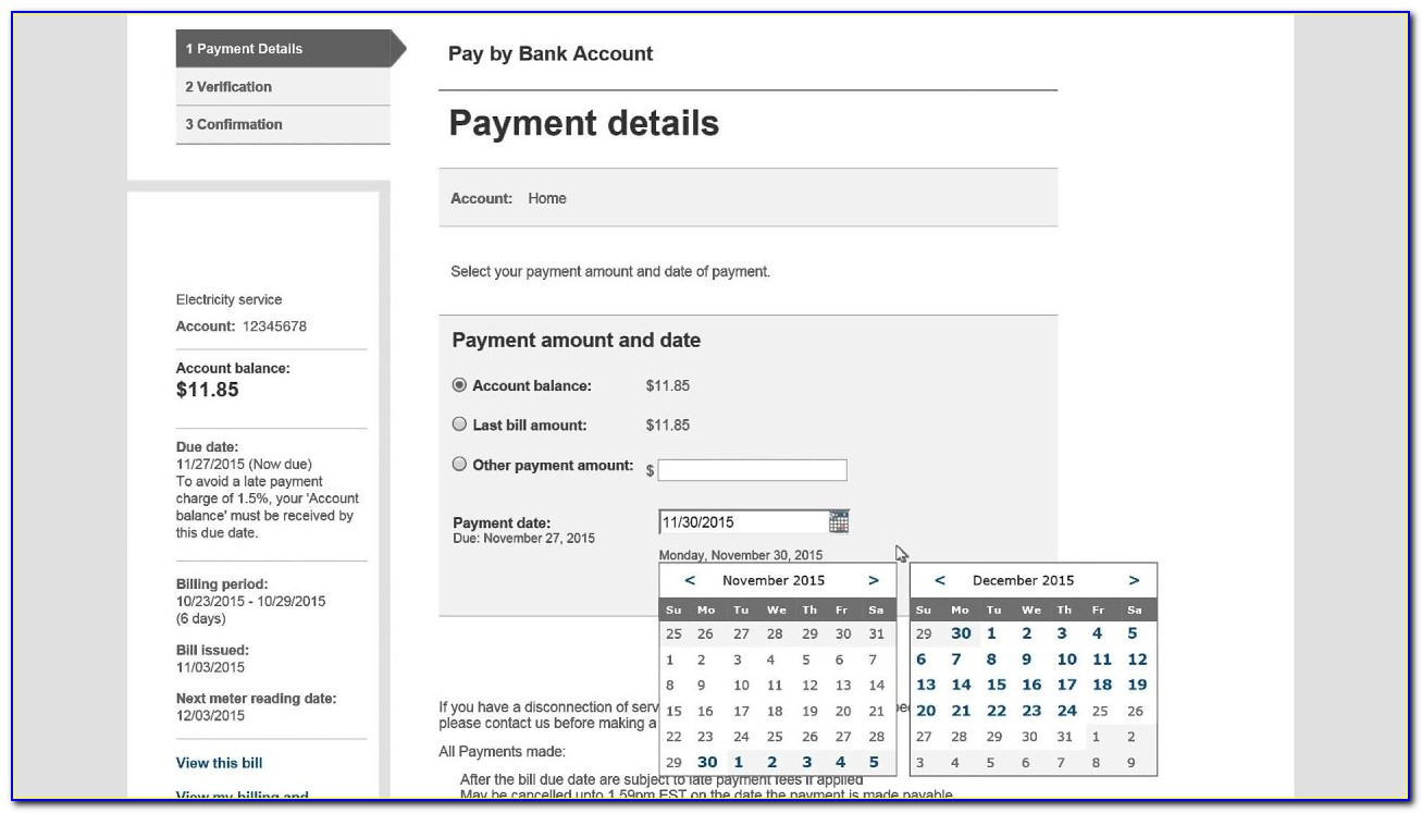 National Grid Invoice Number On Bill