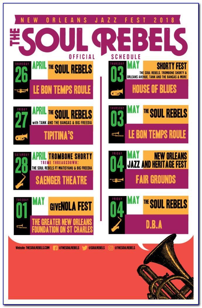 New Orleans Jazz Fest Lineup Announcement 2019