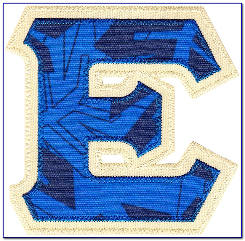 Order Tackle Twill Letters