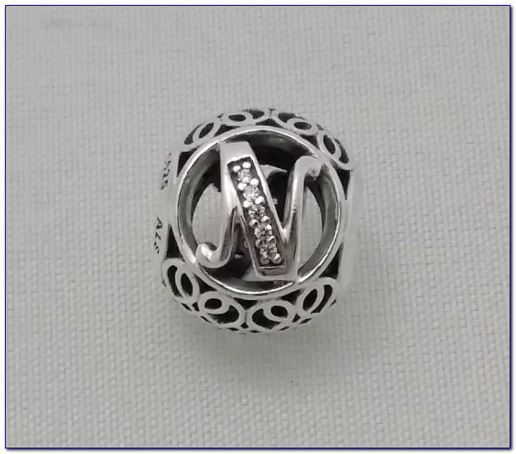 Pandora Letter Charms For Bracelets