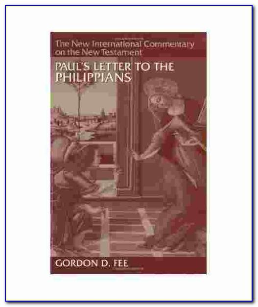 Paul's Letter To The Philippians A Socio Rhetorical Commentary