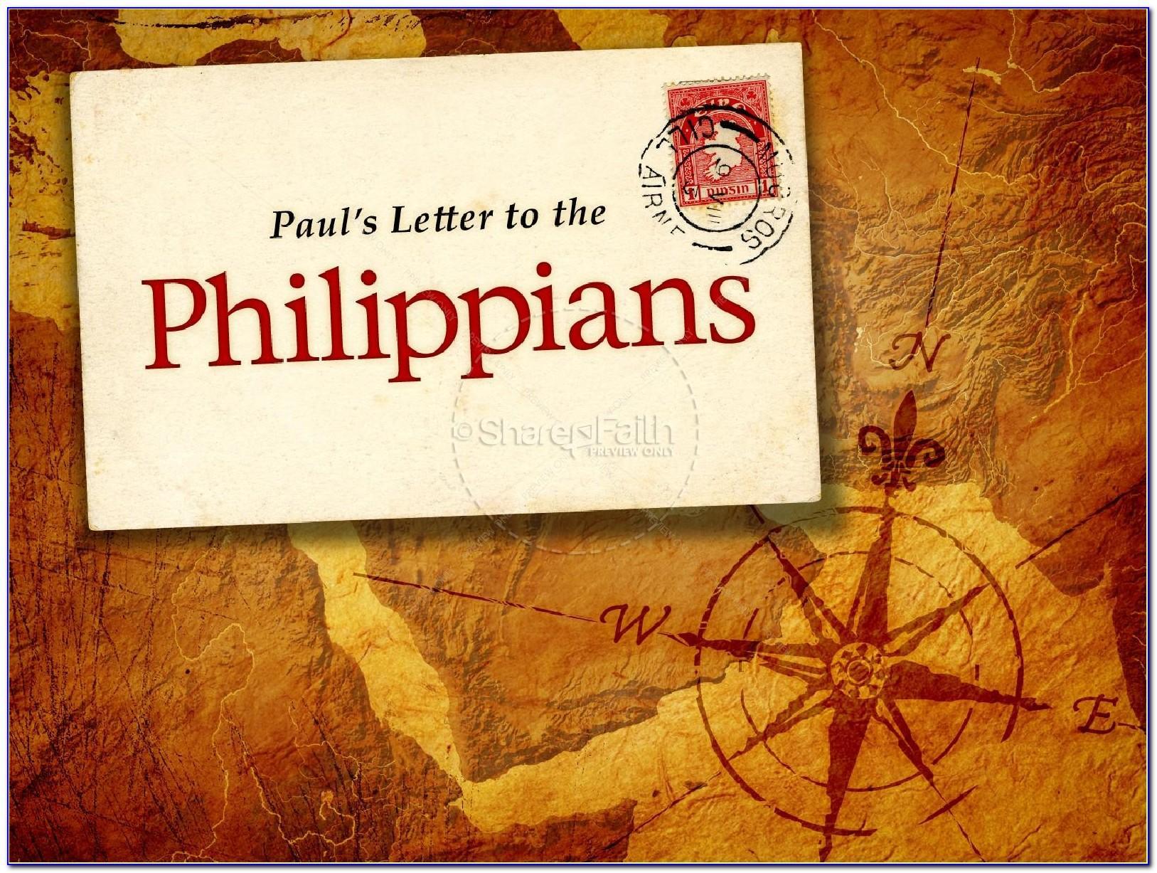 Paul's Letter To The Philippians Gordon Fee