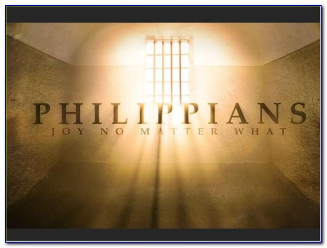 Paul's Letter To The Philippians New Testament